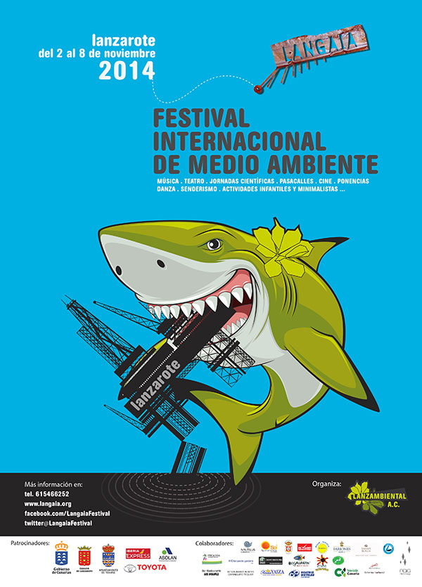 Cartel anuncionador Edición Langaia 2014